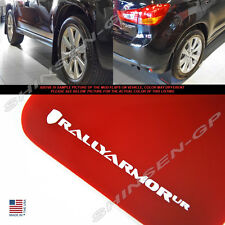 """Rally Armor UR """"Red Mud Flaps w/ White Logo"""" for 2010-2015 Outlander Sport"""