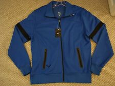 NWT Nike Nadal Vamos Rafa Ace Knit Tennis Jacket Blue Federer 424981-419 Large
