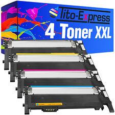 4 Toner XXL ProSerie für Samsung CLP-360 ND CLP-365 W Xpress C410 W CLT-406S