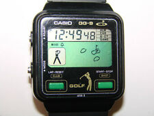 Casio GG-9 Golf Game and Watch mod. QW227 ultra rare collector's item Japan 1984