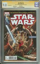 STAR WARS #1 CGC 9.8 50:1 ROSS VARIANT COVER SIGNED BY STAN LEE 1ST DAY RELEASE