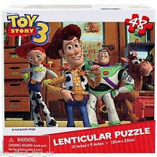 Disney Toy Story 48 Piece Lenticular Puzzle  *NISB*  Free Shipping