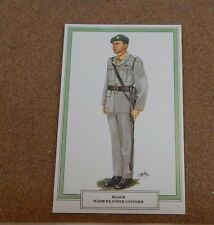 Military Uniforms postcards,Intelligence Corps Major Warm weather Uniform