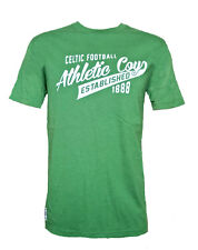 MENS Small CELTIC FC Heritage T Shirt ADULT Football Top vintage Green NEW AM
