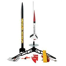 Estes TandemX Launch Rocket Set. Model Kit Pack Easy Flying E2X Science Toy Gift