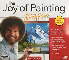 The Joy of Painting with Bob Ross 10 DVD PBS As Seen On TV Latest Edition