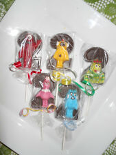 24 Yo Gabba Gabba 2nd Birthday Gourmet Chocolate Lollipop Party Favors
