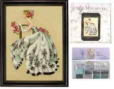 MIRABILIA Cross Stitch PATTERN and EMBELLISHMENT PACK Sabrina MD106