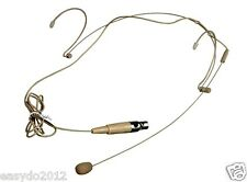 Pro Headset Microphone for Samson and AKG Wireless Mic System XLR 3 PIN Mini