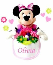 personalized minnie bucket of love/baby gift buckets/baby shower gifts/baby toys