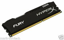 8GB Kingston HyperX Fury DDR4 2400 Mhz Desktop Pc  Ram + BILL