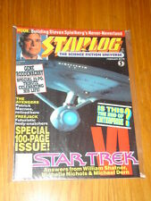 STARLOG #175 SCI-FI MAGAZINE FEBRUARY 1992 STAR TREK VI GENE RODDENBERRY