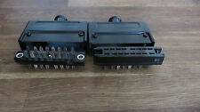SIEMENS Vintage 16pins connector set male+female silver plated