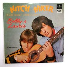 BOBBY AND LAURIE - HITCH HIKER - AUSSIE 1966 MONO LP - GARAGE/BEAT