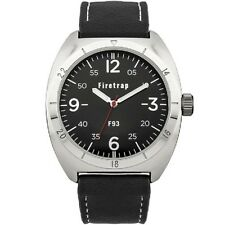 Firetrap Men's Quartz Watch with Black Dial FT2000B SECOND