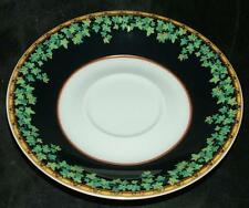"""VERSACE Gold Ivy 5.75"""" saucer for gold wing coffee cup by Rosenthal mint"""