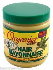 Organics Hair Mayonnaise Treatment For Week, Damaged hair By Africa's Best 426g