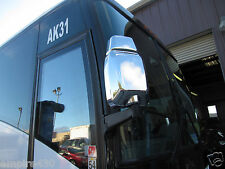 Replacement Chrome Mirror Covers - '97-'13 Van Hool T2100 Buses/Coaches T Series