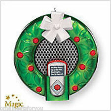 Hallmark 2007  It's Beginning To Sound A Lot Like Christmas MP3 Player Ornament