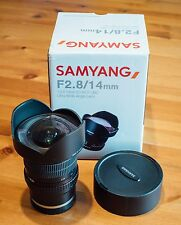 Samyang 14mm ED AS IF UMC-Sony E Mount