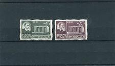 TURCHIA-TURKEY 1953 serie traslazione della salma di Ataturk 1201-02   MNH