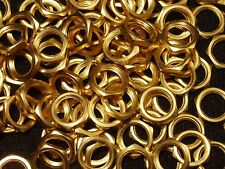 Qty: 171 Gold Plated Nuts 50 grams Scrap Recovery Mil-Spec Vintage 60-70's Xlnt!