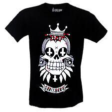 Skull T-shirt punk emo goth by Sin and Bone