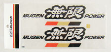 8 Inch JDM Mugen Power Decal Stickers Black Color Made in Japan Honda Acura