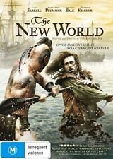 THE NEW WORLD Colin Farrell DVD R4 - NEW