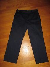 Ladies Lauren Active Ralph Lauren Blue Cotton Blend Pants Size 14