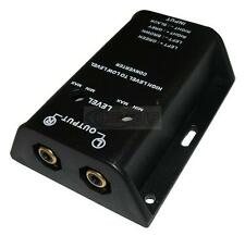 Celsus Adjustable Line Converter -  Speaker to RCA Adapter - High to Low Level