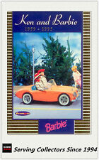 1996 Australia Tempo 36 Years Of Barbie Trading Cards Ken & Barbie KB2
