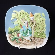 Vintage Beswick Peter Rabbit Wall Plaque Plate Beatrix Potter 2nd Edition