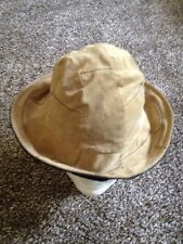 Wilson Leather Top Hat Brown Size Small And Medium Very Nice Hat GXN