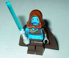 STAR WARS Lego Aayla Secura w/lightsaber custom Genuine Lego Parts NEW #40