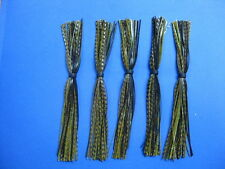5 Silicone Skirts October Crawfish 262-63-91 spinner bait bass lure jig fishing