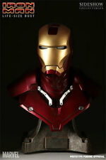 Sideshow Iron Man Mark 3 1:1 Scale Life Size Bust Figure
