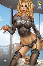 Zenescope GFT Death Force Issue #3 SDCC Cosplay Exclusive EBAS LTD 200 Worldwide