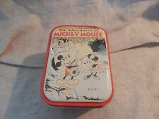 Vintage Style Adventures of Mickey Mouse Bristolware Tin