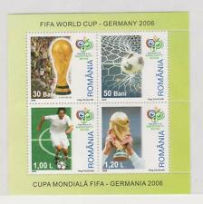 2006 ROMANIA  SPORT SOCCER GERMANY  - MNH