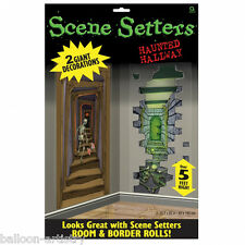 Scary Halloween Scene Setter Add On - HAUNTED HALLWAY