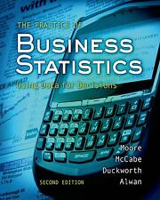 The Practice Of Statistics For Business And Economics by David S Moore