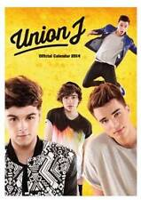 UNION J OFFICIAL 2014 LARGE WALL CALENDAR BRAND NEW AND FACTORY SEALED