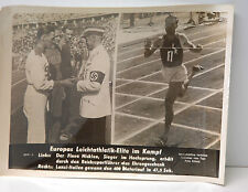 PHOTO 39/45 : EUROPAS LEICHTATHLETIK-ELITE IM KAMPF / NICKLEN - LANZI-ITALIEN