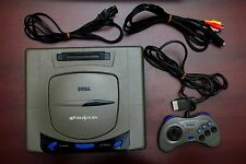 Sega Saturn Gray Console Japan import SS system US Seller good working condition