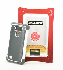 Ballistic SG MAXX Tough Jacket Case w/Belt Clip Holster for LG G3 Gray/White NEW