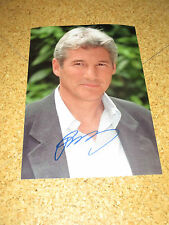 Rar! RICHARD GERE Originalautogramm GROSSFOTO!