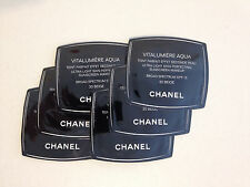 6 CHANEL Vitalumiere Aqua Skin Perfecting Makeup SPF15, 30 BEIGE Samples