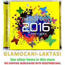 CD THE BEST OF 2016 POP ROCK compilation 2016 bebek opca opasnost flyer mort