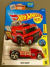 2016 Hot Wheels 173/250 CRATE RACER in Red with shaking engine NEW MODEL Nice!